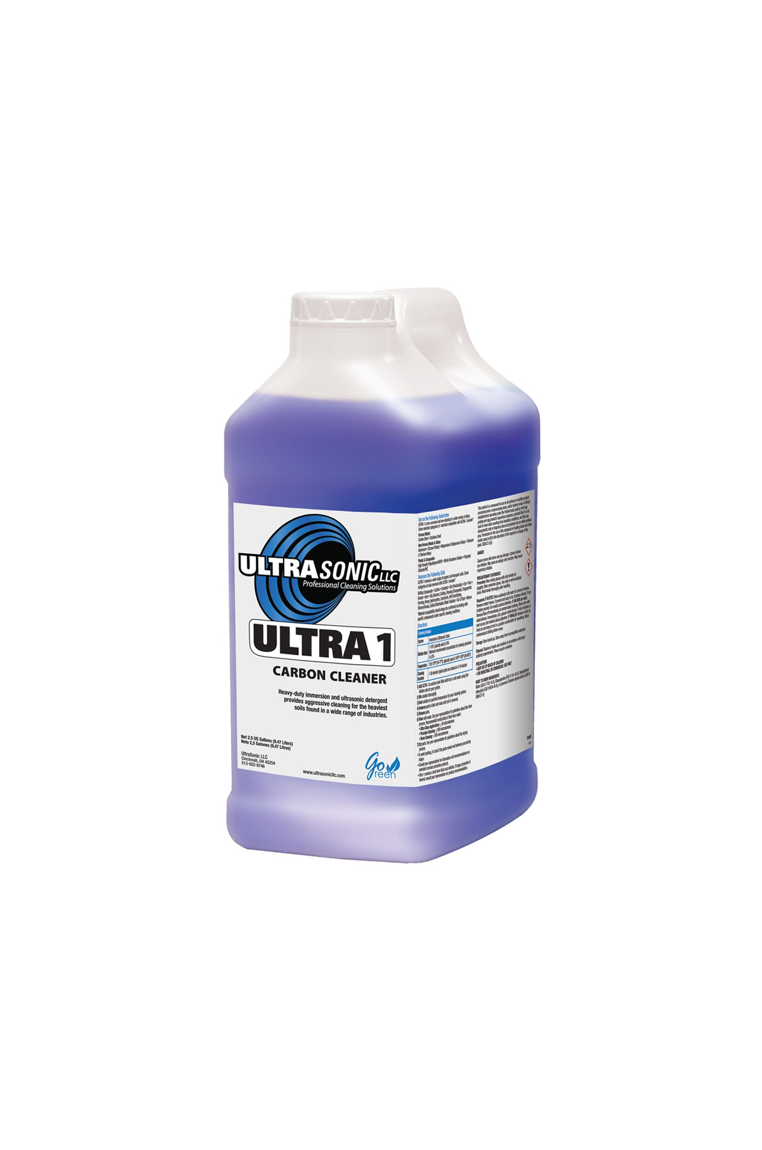 Ultra 1 Heavy Duty Ultrasonic Detergent - 2.5 Gallons