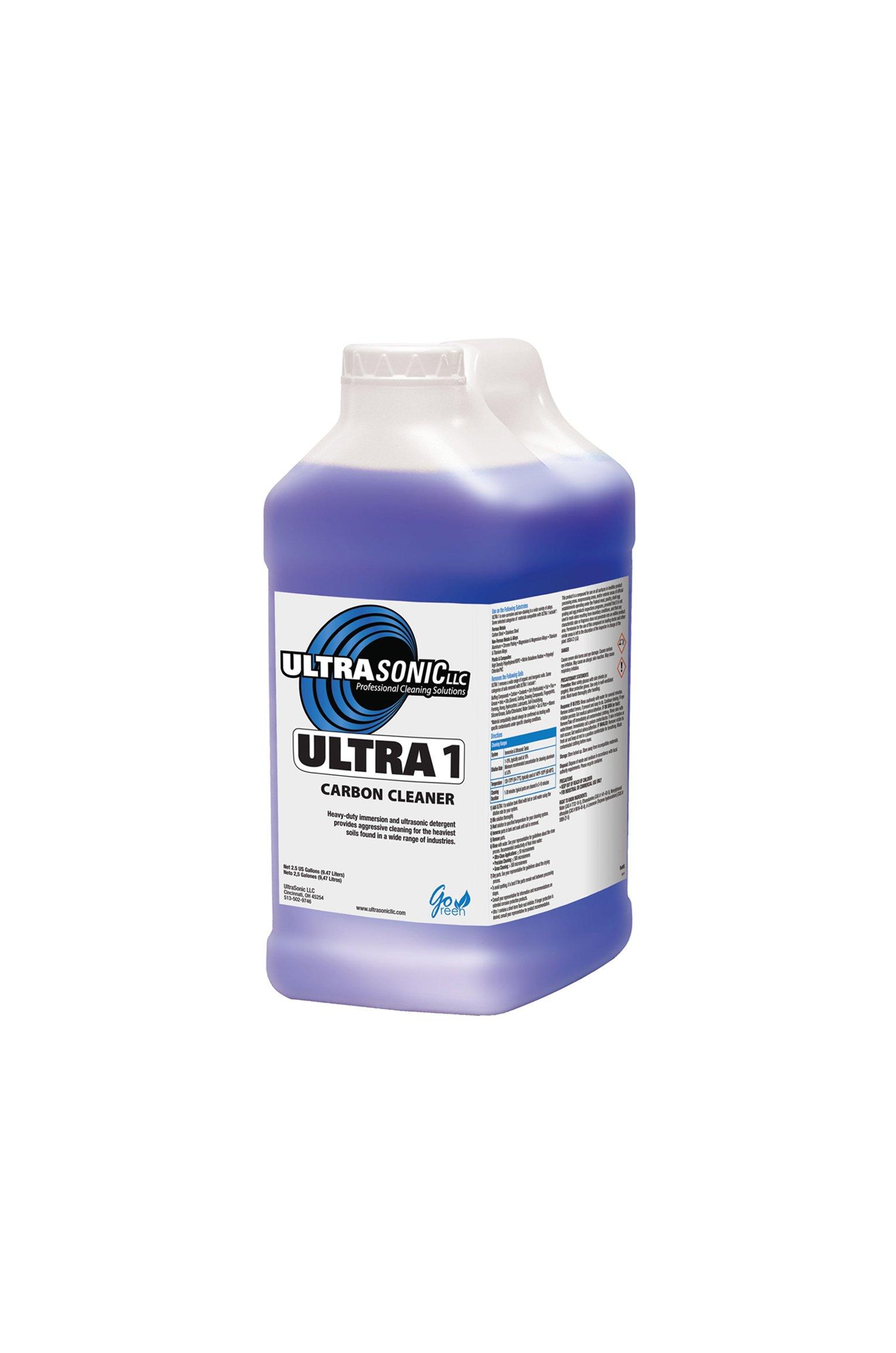 Ultra 1 Heavy Duty Ultrasonic Detergent - 5 Gallons
