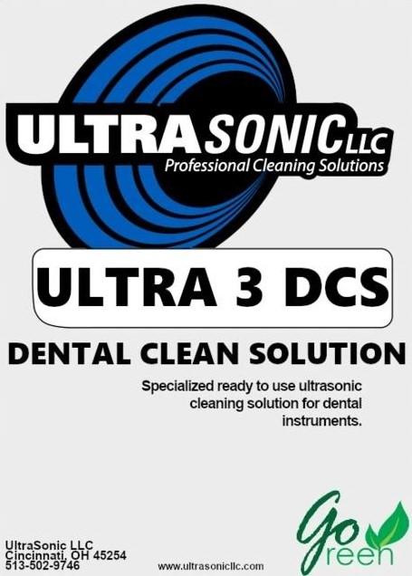 Ultra 3 Dental Clean Solution